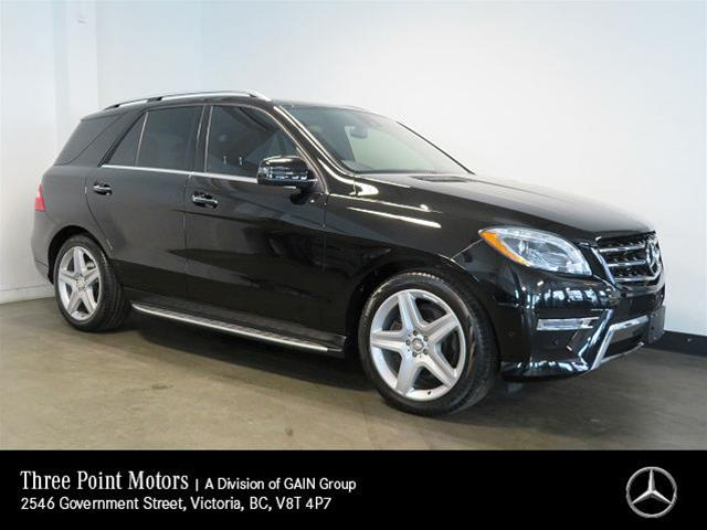 Pre-Owned 2014 Mercedes-Benz ML350 BlueTEC 4MATIC