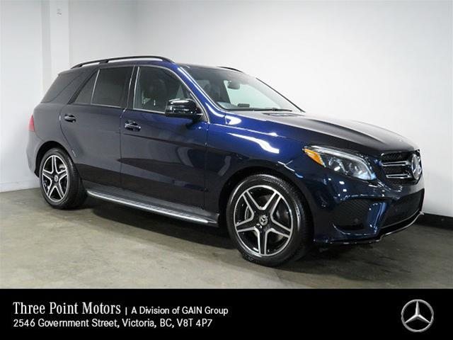 New 2019 Mercedes-Benz GLE400 4MATIC SUV