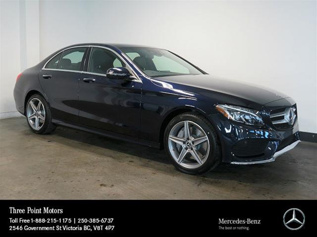 New 2018 mercedes benz c class c300 sedan in victoria for Mercedes benz c class service b