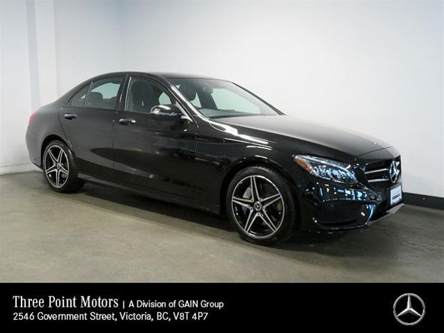 Certified Pre-Owned 2018 Mercedes-Benz C300 4MATIC Sedan