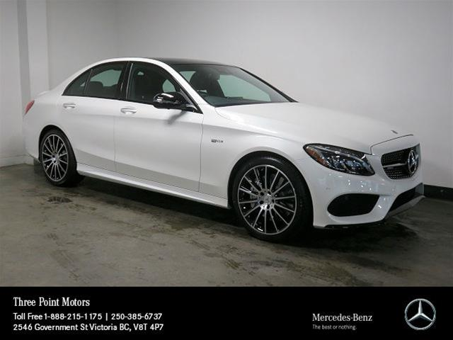 New 2018 mercedes benz c class c43 amg sedan in victoria for Mercedes benz c43 amg lease