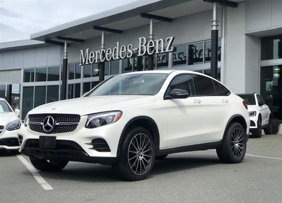 Certified Pre-Owned 2019 Mercedes-Benz GLC300 4MATIC Coupe