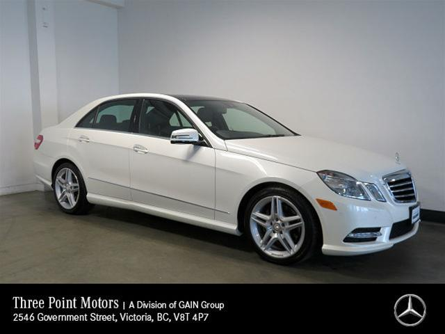 Pre-Owned 2013 Mercedes-Benz E350 4MATIC Sedan