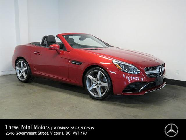 Certified Pre-Owned 2018 Mercedes-Benz SLC300 Roadster