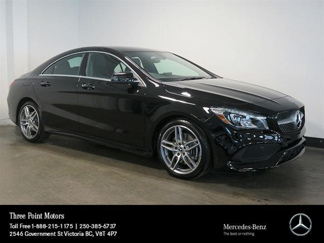 Certified Pre-Owned 2018 Mercedes-Benz CLA250 4MATIC Coupe