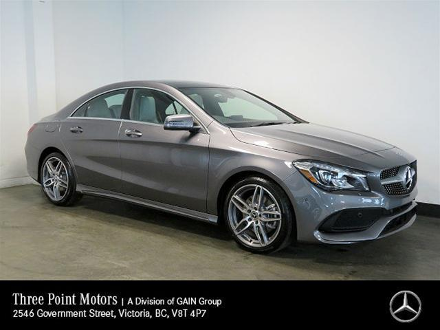 New 2018 Mercedes-Benz CLA250 4MATIC Coupe