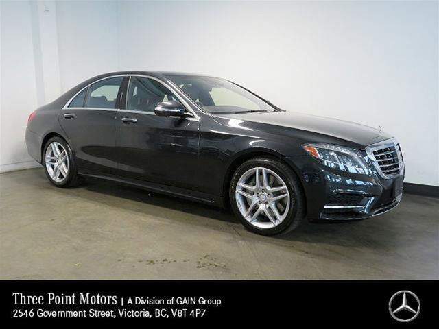 Pre-Owned 2014 Mercedes-Benz S550 4MATIC Sedan (SWB)