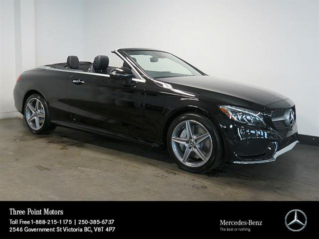 New 2018 Mercedes Benz C Class C300 Cabriolet In Victoria