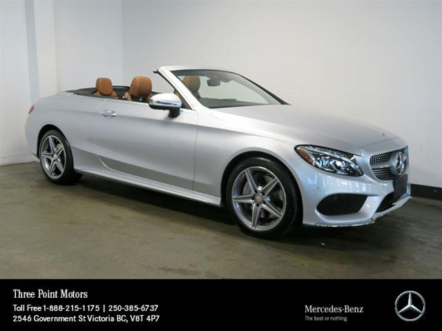 Certified Pre-Owned 2017 Mercedes-Benz C300 4MATIC Cabriolet