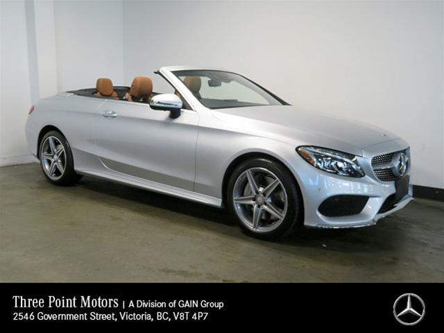 Certified Pre Owned 2017 Mercedes Benz C300 4matic Cabriolet