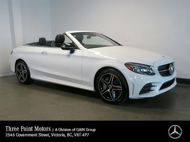 New 2019 Mercedes-Benz C300 4MATIC Cabriolet