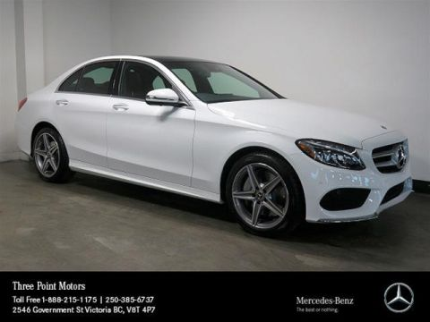 New 2018 Mercedes-Benz C300 4MATIC Sedan