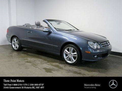 Pre-Owned 2007 Mercedes-Benz CLK350 Cabriolet