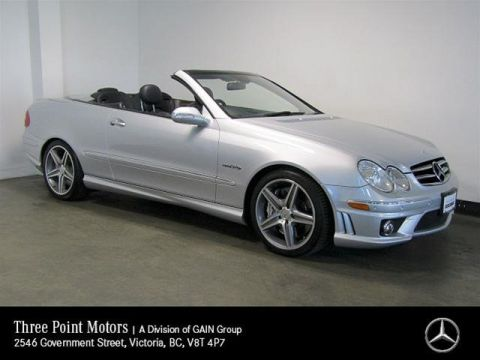 Pre-Owned 2007 Mercedes-Benz CLK63 AMG Cabriolet