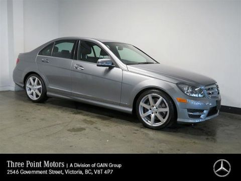 Pre-Owned 2013 Mercedes-Benz C350 4MATIC Sedan