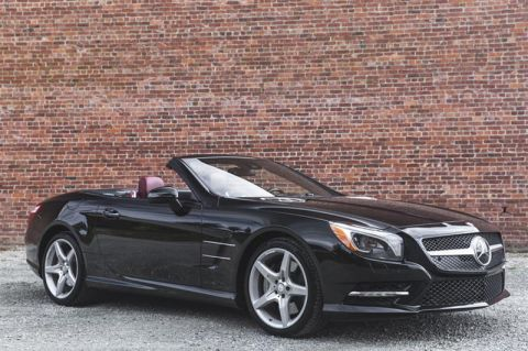 Certified Pre-Owned 2015 Mercedes-Benz SL550 Roadster