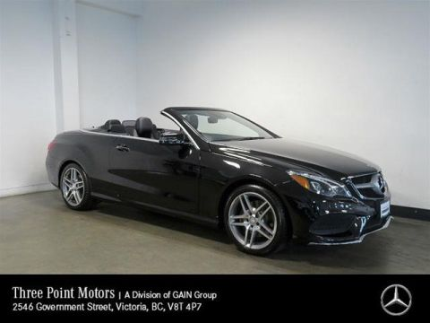 Pre-Owned 2014 Mercedes-Benz E350 Cabriolet