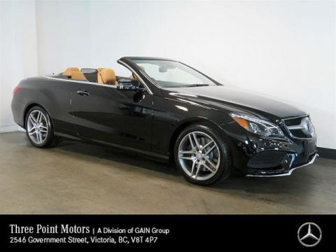Certified Pre-Owned 2017 Mercedes-Benz E400 Cabriolet