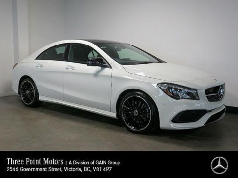 New 2018 Mercedes-Benz CLA250 Coupe