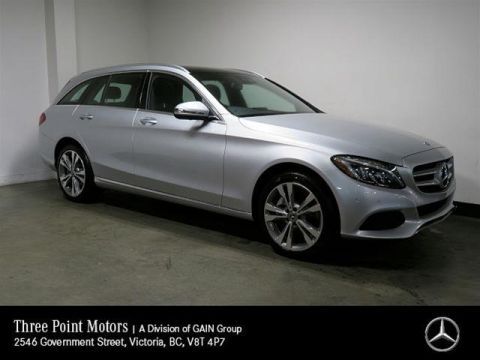 Certified Pre-Owned 2018 Mercedes-Benz C300 4MATIC Wagon