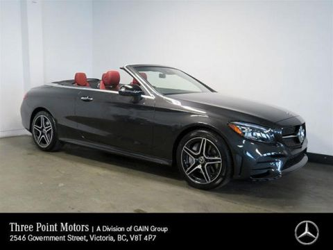 New 2020 Mercedes-Benz C300 4MATIC Cabriolet