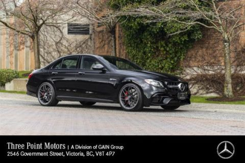 Certified Pre-Owned 2018 Mercedes-Benz E63 AMG S 4MATIC+ Sedan