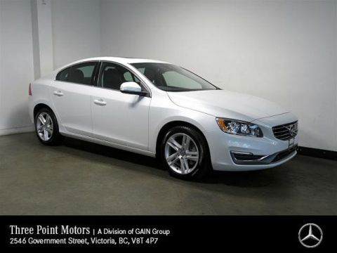 Pre-Owned 2015 Volvo S60 T5 AWD A Premier Plus